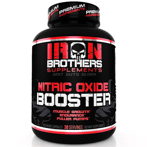 Iron Brothers Supplements Nitric Oxide Booster