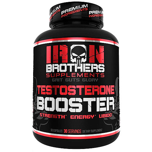 Iron Brothers Supplements Testosterone Booster